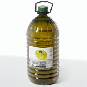 Aceite de Oliva Virgen Extra Cortijo del Vélez, en garrafa de 5 litros | Cortijo del Vélez is our most golden extra virgin olive oil